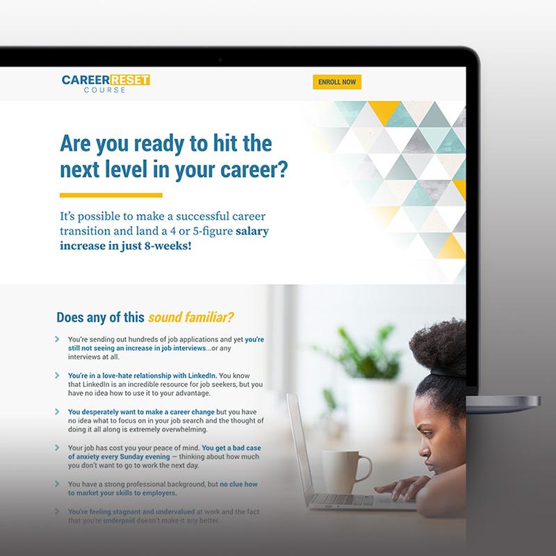 Career Reset Sales Page
