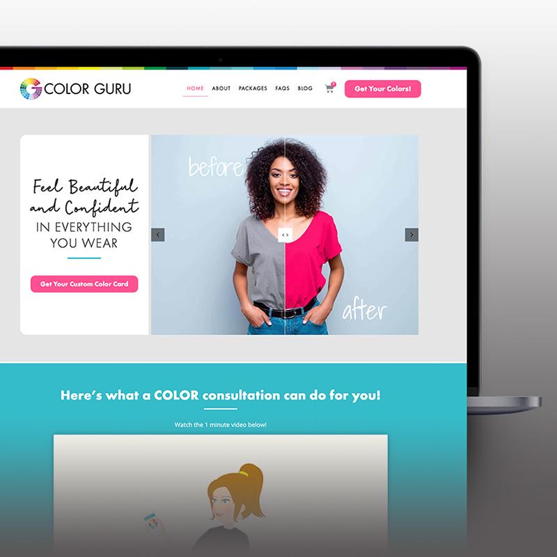 Color Guru website
