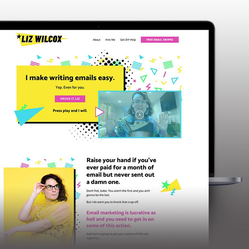 Liz Wilcox website