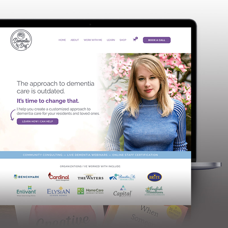 Dementia by Day website