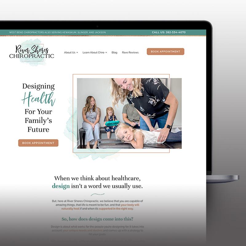 River Shores Chiropractic Website
