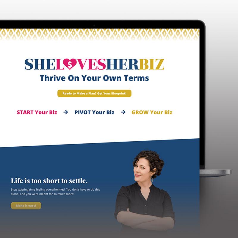 She Loves Her Biz Website