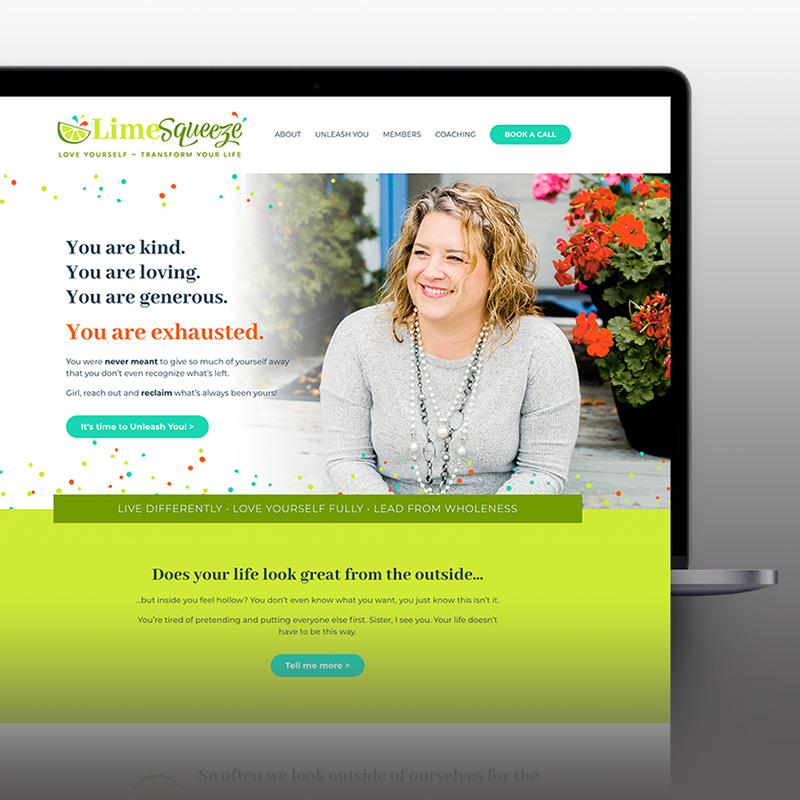Lime Squeeze website
