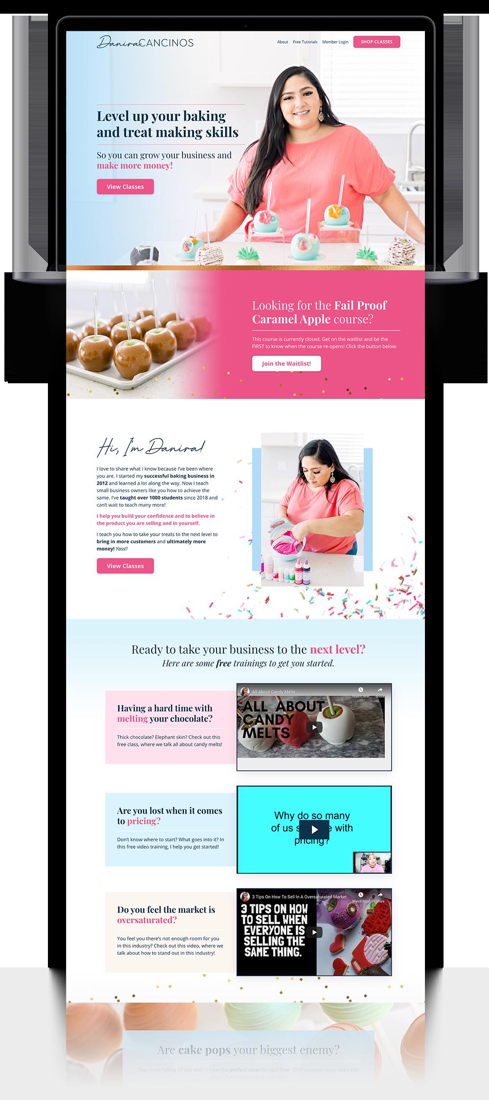 Danira website