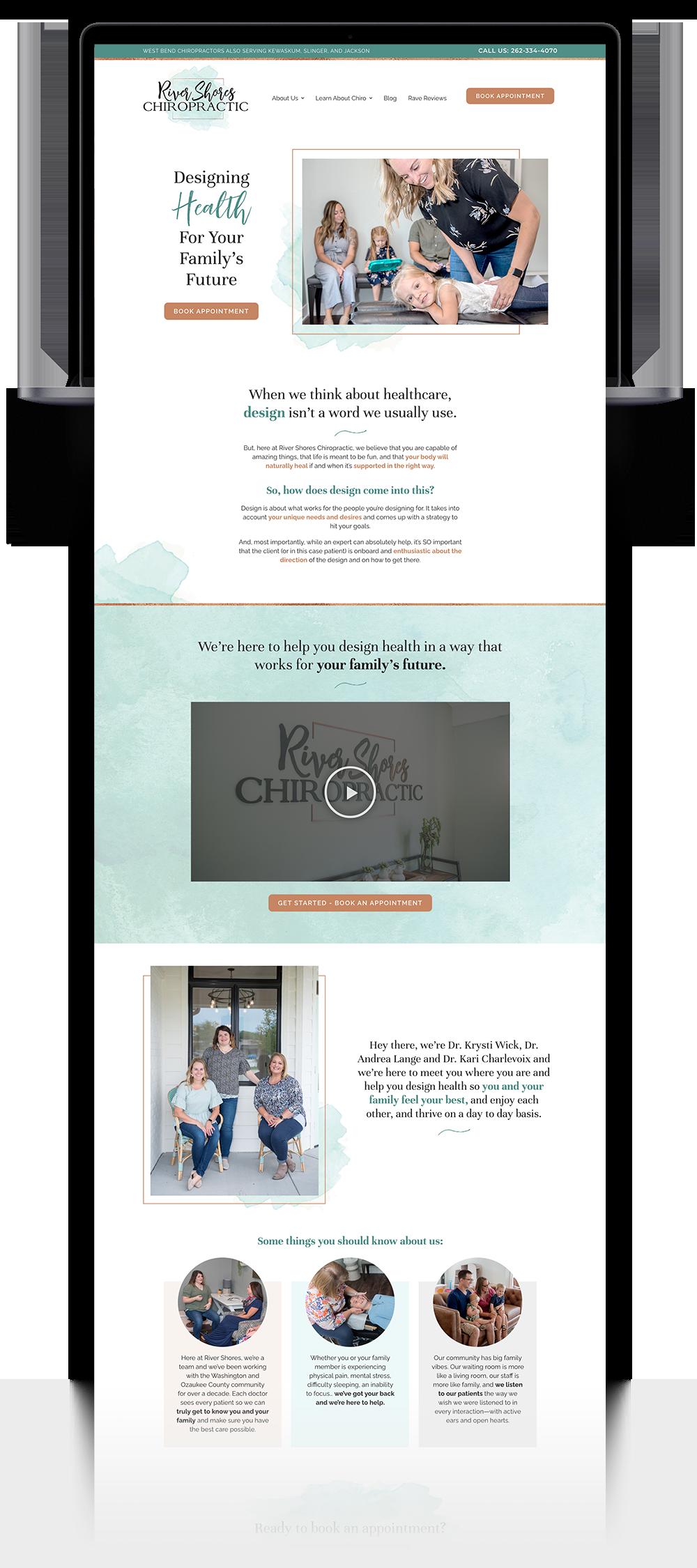 River Shores Website
